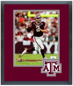 Johnny Manziel 2013 Texas A&M Aggies - 11 x 14 Matted/Framed Photo