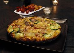 Recipe:  Zucchini-Potato Frittata  — Cookbook Recipe