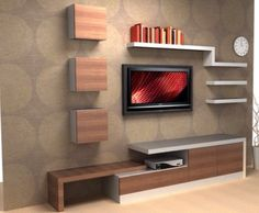 Modern Tv Wall Unit Designs for Living Room - Modern Tv Wall Unit Designs for Living Room , Tv Unit Design Inspiration for Your Home — Best Architects Living Room Tv Unit, Room Design, Interior, Tv Unit Furniture, Tv Wall Design, Wall Unit Designs, House Interior, Living Room Tv Wall, Living Room Designs