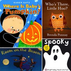 Get in the Halloween spirit! Try sharing one of these 20 Not-So-Spooky Halloween Books For Tots with your little pumpkin! #books #halloween