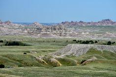 badlandspanorama - Badlands National Park, South Dakota Badlands National Park, National Parks, South Dakota, Grand Canyon, Explore, Landscape, Nature, Travel, Scenery