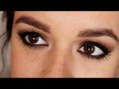 Maquillaje en tono café. Ojos ahumados / smokey eye for brown eyes