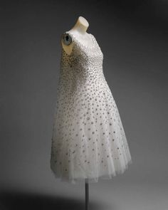 "House of Dior by Yves Saint Laurent - 1958 ""L'Elephant Blanc"""