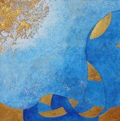 "Saatchi Art Artist Eva Hoffmann; Painting, ""The Sea"" #art"