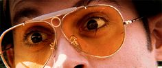 Bat Country Fear and Loathing in Las Vegas Fear And Loathing, Johnny Depp, Trippy, Round Sunglasses, Image, Las Vegas, Gifs, Country, Video Clip
