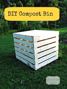 home depot diy-compost-bin