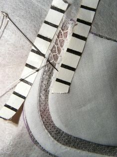 Good instructions for bridging stitch