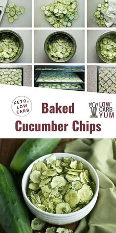 How to dehydrate cucumber in oven or dehydrator. // dehydrate recipes // foods to dehydrate // baked vegetable chips // How to dehydrate cucumber in oven or dehydrator. // dehydrate recipes // foods to dehydrate // baked vegetable chips // Healthy Low Carb Snacks, Healthy Chips, Keto Snacks, Low Carb Recipes, Savory Snacks, Protein Snacks, Healthy Appetizers, Healthy Options, Healthy Food