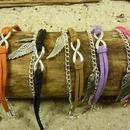 Armbänder - Armband Infinity, Eternity - ein Designerstück von Beads-for-Beginners bei DaWanda