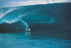 Laird Hamilton. One of the heaviest waves ever ridden.