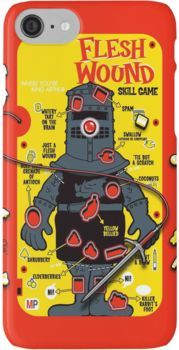 """The """"It's Just A Flesh Wound"""" Game iPhone 7 Cases"""