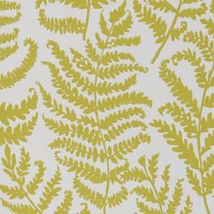 green citrus color - wild ferns pattern. Other colors too