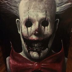 Awesome clown by @zackdunn89.
