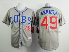 http://www.xjersey.com/cubs-49-arrieta-grey-cool-base-jersey.html Only$35.00 CUBS 49 ARRIETA GREY COOL BASE JERSEY Free Shipping!