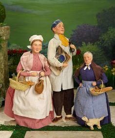 Trio of American Artist Dolls ... Auctions Online | Proxibid