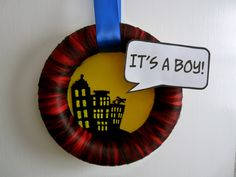 Super Hero Baby Shower or revise for birthday party