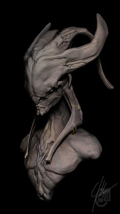 """The Urgon tradition of cultivating """"bone scars"""" into horrific ridges and boney plates that cover their bodies has led some cultures to equate them with demons (the volatile nature of the Urgon race does nothing to dispel this misconception)."""