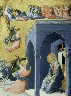 'Annunciazione', huile de Paolo Uccello (1397-1475, Italy)