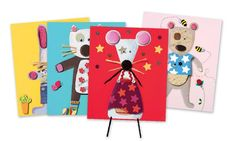 Djeco Collages For Little Ones Kit is a fantastic craft kit for littlies includes 4 pictures (210mm x 28mm), 4 envelopes with contents to complete each image, 1 glue stick and booklet of step by step instructions. 3 Years + $32.99