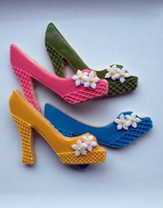 Casue — Peep-toe Shoe Cookies