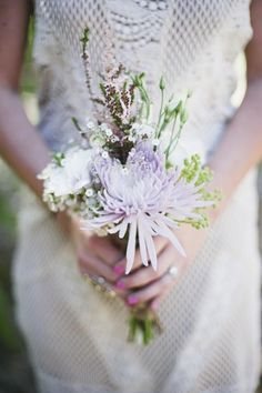 Gorgeous purple mini bouquet