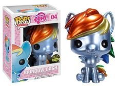 Funko POP! My Little Pony Vinyl Figure Rainbow Dash Metallic Paint Exclusive FunKo,http://www.amazon.com/dp/B00E6XWPV4/ref=cm_sw_r_pi_dp_6MVEtb0Z4NET2QHK