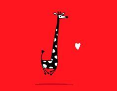 "Check out new work on my @Behance portfolio: ""Giraffes"" http://be.net/gallery/49983199/Giraffes"