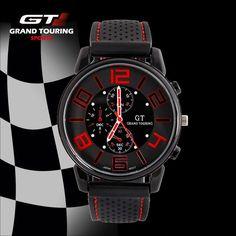 F1 Grand Touring GT Brand Men Sport Quartz Watch Military Wristwatch Fashion Men's Watches