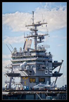 USS Enterprise by M. T. Harmon, via 500px