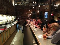 Great space and great selection of beers.