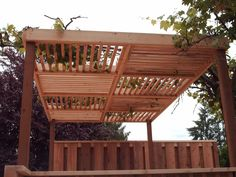 Add shade, vertical interest, and style to your yard with a cedar pergola