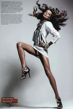 cool Timeless | Daria Werbowy by Mario Sorrenti for W Magazine April 2010
