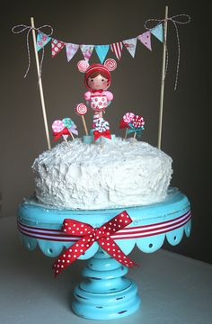 i think this is the best use of cake bunting i have seen! so cute!