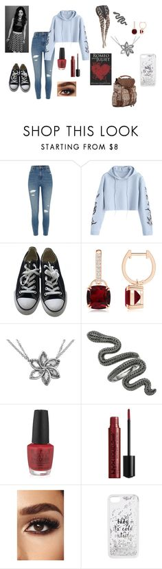 """Aspen -chapter 1-"" by megpegachu on Polyvore featuring River Island, Converse, OPI, Kate Spade and Billabong"