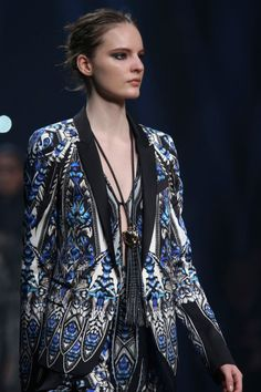 Roberto Cavalli Fall 2014 inspired G.Levin / Touch of Flame 2 http://fqoto.com/fqoto-aw2014-15-021-g.-levin--touch-of-flame-2.html