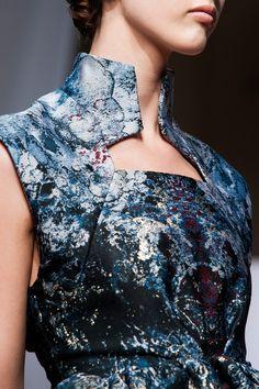 Yiqing Yin fall 2013 couture details