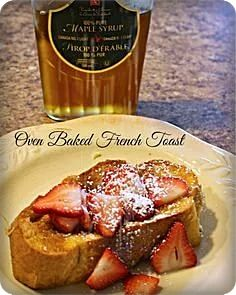 French Toast: The Best Special Day Morning Meal Best French Toast, French Toast Bake, Morning Food, Oven Baked, Special Day, Meals, Baking, Breakfast, Ina Garten