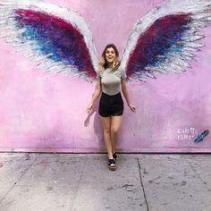 São todos anjos distraídos  (quero uma parede dessa no #NahSpace)