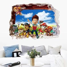 Cheap paw patrol wall stickers, Buy Quality sticker for kids room directly from China wall stickers for kids Suppliers: Creative cute paw patrol wall stickers for kids rooms removable kawaii nursery wall decals wall pictures for living room Paw Patrol Wall Decals, 3d Wall Decals, Removable Wall Stickers, Nursery Wall Decals, Vinyl Wall Stickers, Window Stickers, Vinyl Wall Art, Baby Room Decor, Diy Bedroom Decor