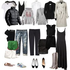 Wardrobe basics~ Not all my style, but a good place to start for simplifying a wardrobe