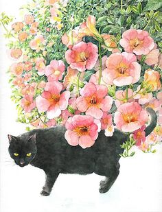 Cats, Cats and more Cats, on the blog today! http://www.artisticmoods.com/cats-in-art/