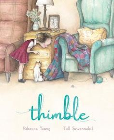 When-her-grandmothers-time-comes-Mabel-finds-something-left-behind-A-beautiful-story-about-how-a-tiny-thimble-and-an-unfinished-blanket-can-help-mend-a-heart