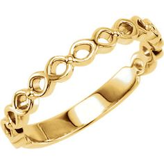 14kt Yellow  Stackable Ring #mothersday Locate a Jeweler Here: http://www.stuller.com/locateajeweler/