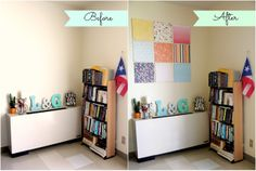 DIY: Canvas Wall Art ~ inspiration.sparks