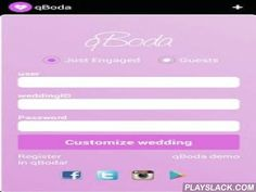 QBoda: Wedding Invitations  Android App - playslack.com , qBoda is a modern and digital way to share invitations to your friends and relatives (Android and IOS) .It's customized just for all.The qBoda application allows just engaged couples configure the following details:- A front page with date, names and an introduction- Add your best photo in the title page of your card.- Leave a voice message to your guests.- Contact phones and emails.- Edit and create all questions you guests must…
