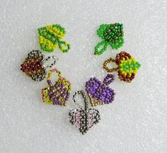 Little hearts. Mini Valentine   biser.info - all about beads and beaded work (Russian)