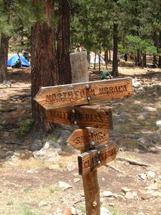 Make trail signs...