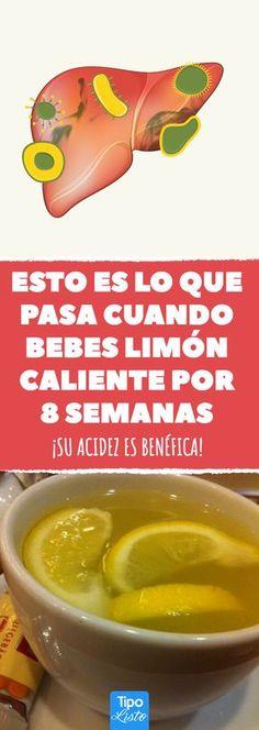 Una buena razón para beber agua con limón todas las mañanas #tipolisto #tiposano #health #healthy #salud #limon #te
