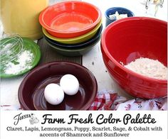 Fiesta Dinnerware introduces new color Claret for 2016! Learn more at the blog at www.alwaysfestive.com.