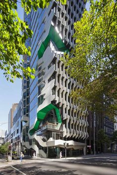 Lyons completes sculptural Melbourne tower for Australian Institute of Architects
